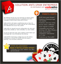 Solution anti-spam entreprise