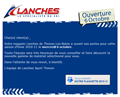 Emailing pour Lanches Sports Thonon